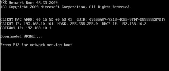 Rysunek 18. Pobranie adresu ip zapomocą usługi DHCP