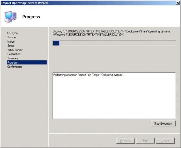 Rysunek 17. Importowanie obrazów systemu Windows.