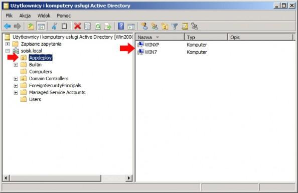Rysunek 34. Dodanie systemu Windows 7 dodomeny.