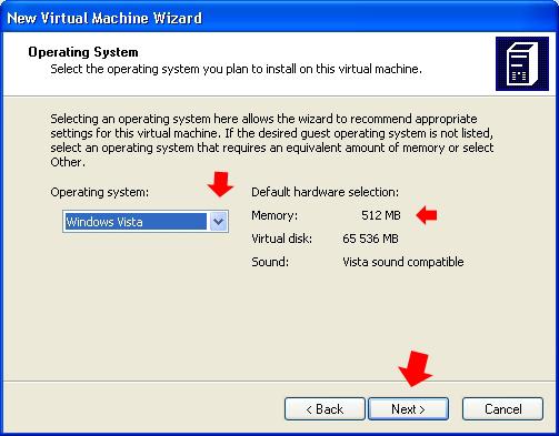 Rysunek 11. Definiowanie zakresu pamięci.