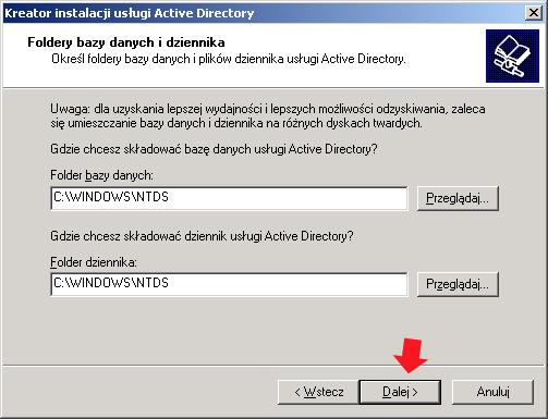 Rysunek 18. Definiowanie nazwy NetBIOS.