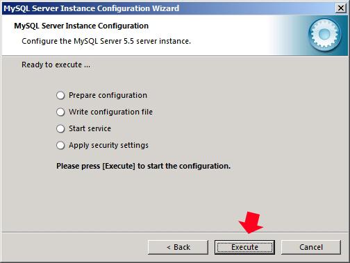 Rysunek 49. Instalowane  konfiguracji serwera.