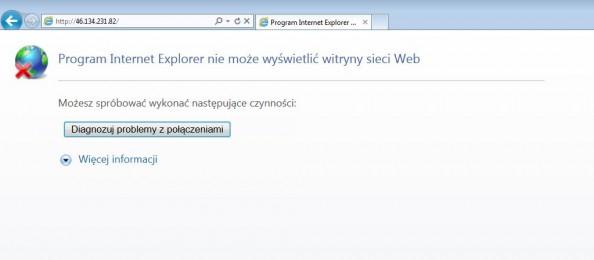 Rysunek 11. Zewnętrzne wywołanie serwera www.