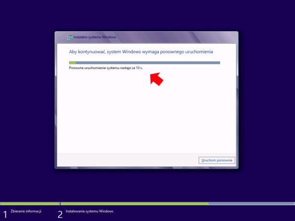 Restart systemu pozakończeniu kopiowania plików