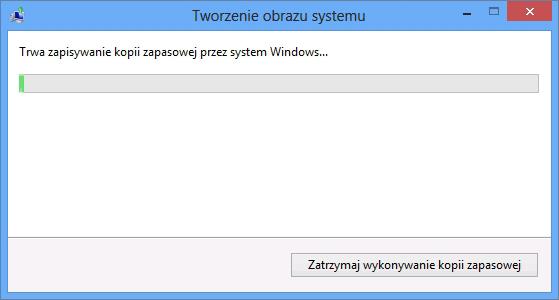 Proces tworzenia obrazu systemu Windows 8.
