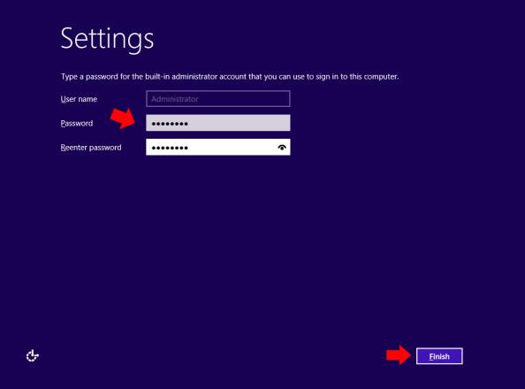 Definiowanie hasła dla wbudowanego konta administratora