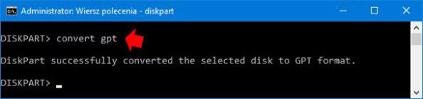 Partycjonowanie GPT dla komputerów zUEFI.