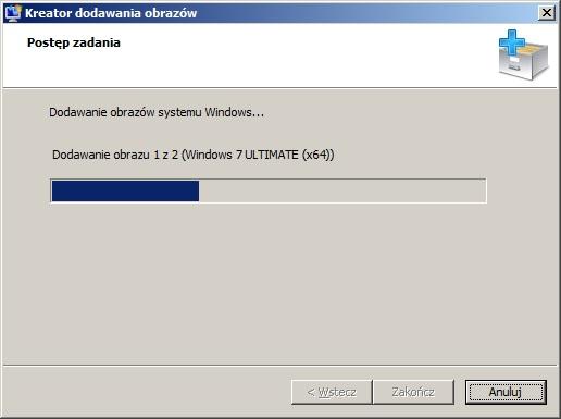 Rysunek 18. Dodawanie obrazów systemu Windows