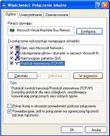 Rysunek 4. Protokół TCP/IP