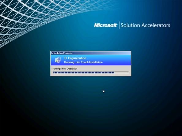 Rysunek 20. Tworzenie obrazu systemu Windows 7.