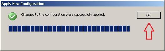 Rysunek 13. Wdrożenie nowej konfiguracji przebiegło pozytywnie.