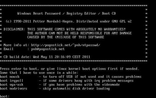 Pierwsze okno narzędzia służącego doresetowania hasła.