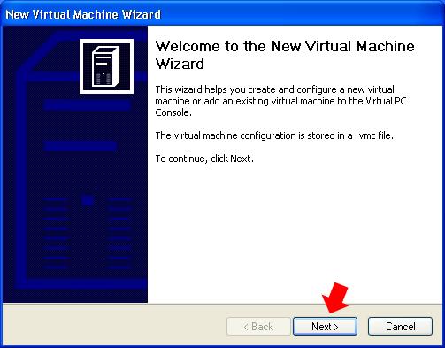 Rysunek 8. Okno kreatora tworzenia wirtualnej maszyny.