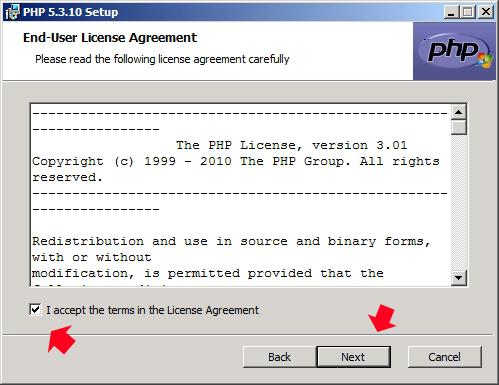 Rysunek 16. Akceptacja warunków licencji.