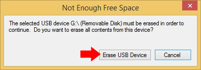 Rysunek 1o. Czyszczenie nośnika USB.