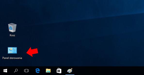Klasyczny panel sterowania wWindows 10