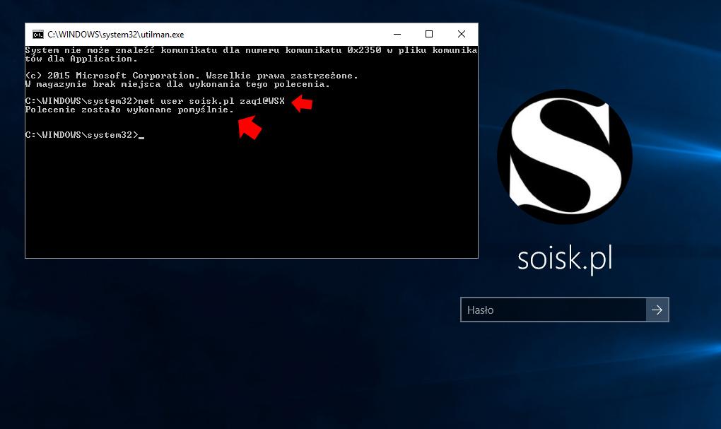 Logowanie Do Systemu Windows 10 Bez Znajomości Hasła Www