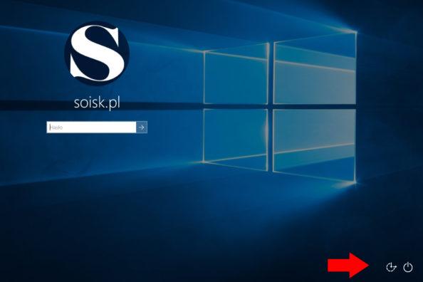 Ukrywanie ikony SIECI znajdująca się wprawym dolnym rogu ekranu logowania.