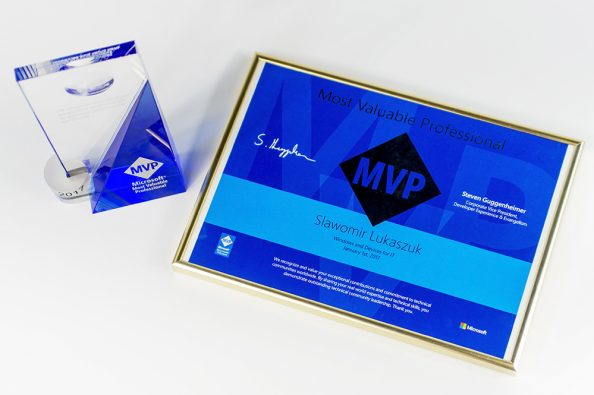 Tytuł Microsoft Most Valuable Professionals (MVP)