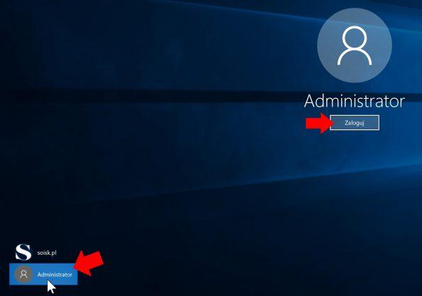 Aktywowanie wbudowanego konta administratora systemu.