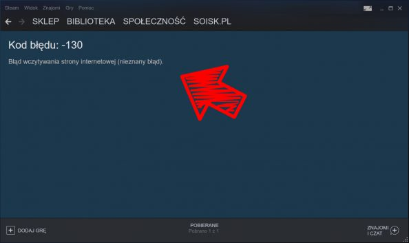Blokowanie dostępu doSteam – platformy służącej douruchamiania gier wtrybie wieloosobowym.