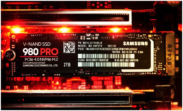 Dysk SSD Samsung 980 PRO 2 TB M.2 2280 PCI-E x4 Gen4 NVMe