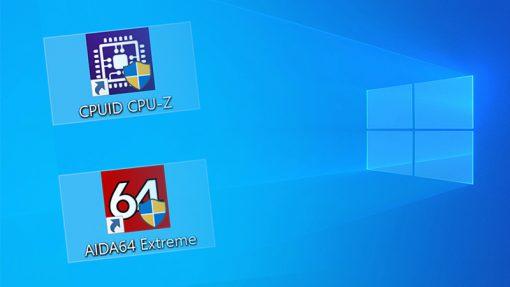 Usunięcie tarczy z ikony programu w systemie Windows 10.