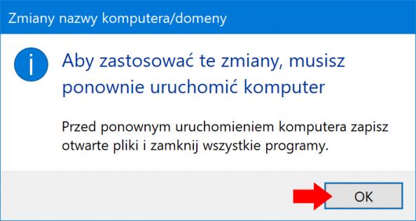 Dodanie systemu Windows 10 PRO dodomeny.